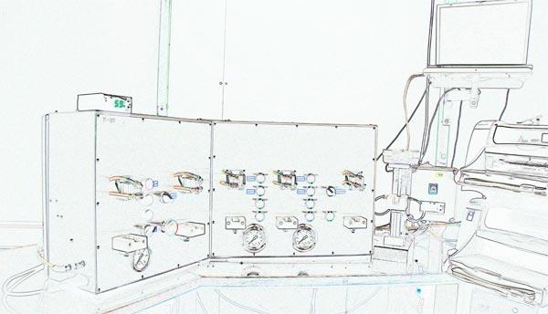 máquinaria para desarrollo de cartuchos reciclados